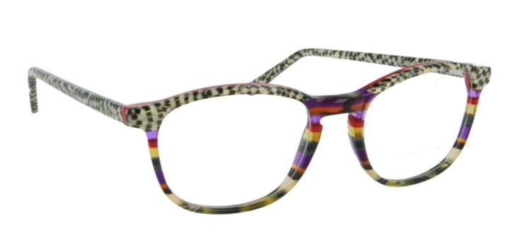 Montures lunettes couleur